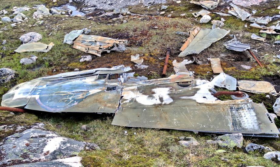 Обломки падения самолета Кочеткова В.Е. 2011 год.